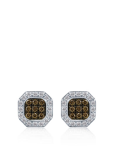 Le Vian® Chocolate Diamond® and Vanilla Diamond™ Earrings in 18k Vanilla Gold™