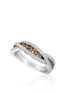 Le Vian® Chocolate Diamond® and Vanilla Diamond™ Band in 14k Vanilla Gold™