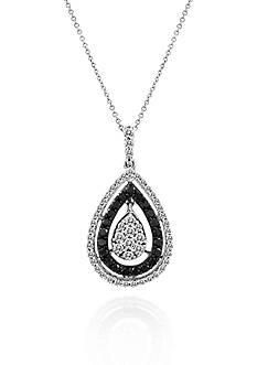 Le Vian® Vanilla Diamond® and Blackberry Diamond® Pendant in 14k Vanilla Gold®