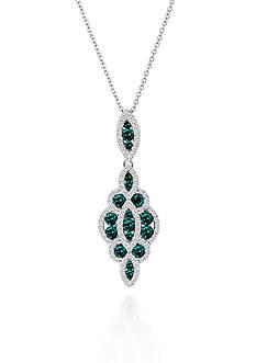 Le Vian Blueberry Diamond® and Vanilla Diamond® Pendant in 14k Vanilla Gold®