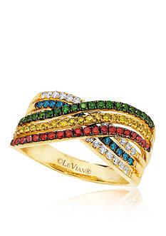 Le Vian® Multicolor Diamond Ring in 14k Honey Gold™