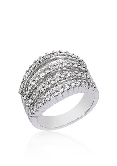 Effy® Diamond Band in 14k White Gold