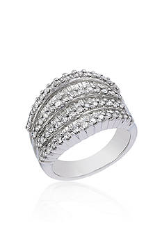 Effy Diamond Band in 14k White Gold
