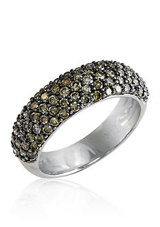 Effy Brown Diamond Ring in 14k White Gold