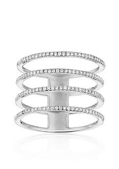 Belk & Co. Diamond Ring in 14k White Gold