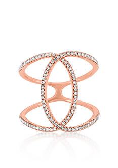 Belk & Co. Diamond Ring in 14k Rose Gold