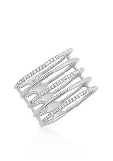 Belk & Co. Diamond Five Row Ring in 14k White Gold