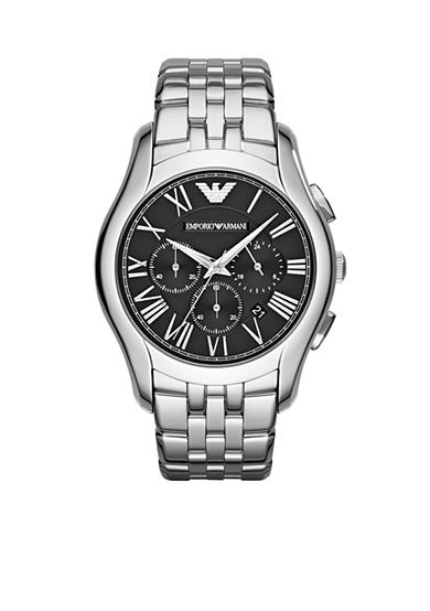 Emporio Armani® Men's Stainless Steel Chronograph Watch