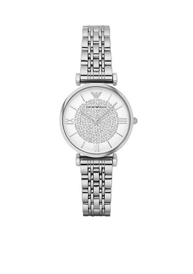 Emporio Armani® Women's Two Hand Stainless Steel Watch