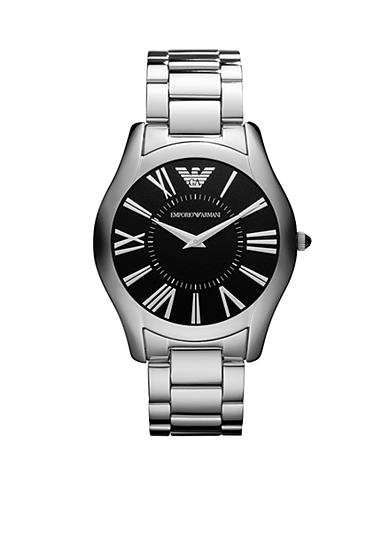 Emporio Armani® Men's Stainless-Steel Super Slim Watch