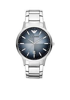 Emporio Armani Men's Stainless Steel Three-Hand Watch