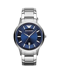 Emporio Armani Men's Stainless Steel Three Hand Watch