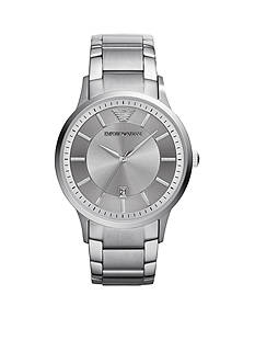 Emporio Armani® Men's Stainless Steel Three Hand Watch