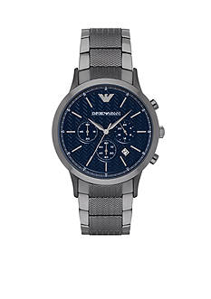 Emporio Armani Men's Renato Gunmetal Chronograph Watch