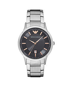 Emporio Armani Men's Renato Stainless Steel Watch