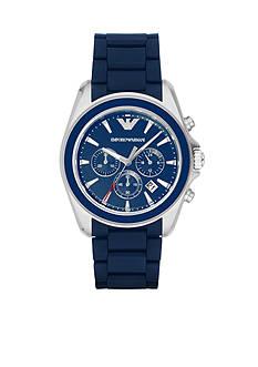 Emporio Armani Men's Sigma Blue Chronograph Watch