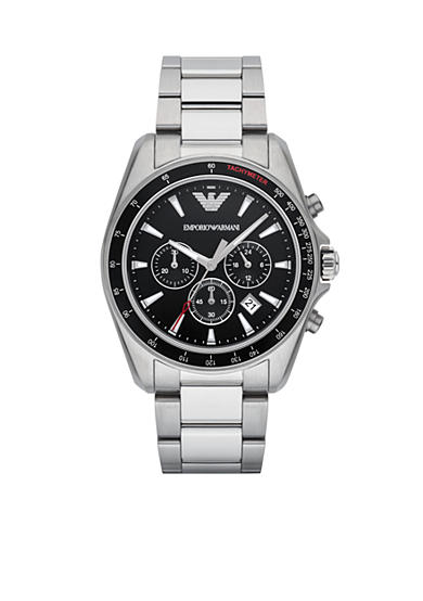 Emporio Armani® Men's Sigma Chronograph Stainless Steel Watch