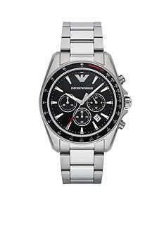 Emporio Armani Men's Sigma Chronograph Stainless Steel Watch