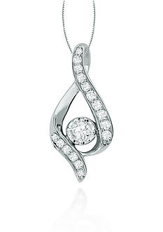 Sirena Pear Shaped Diamond Pendant