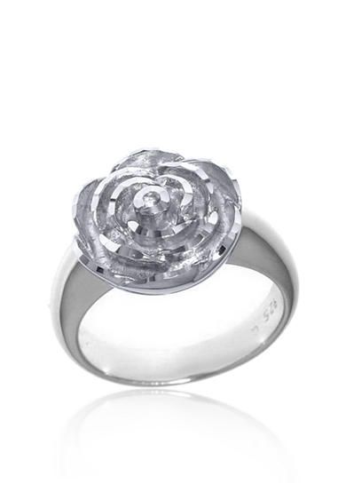 Belk & Co. Sterling Silver Flower Ring
