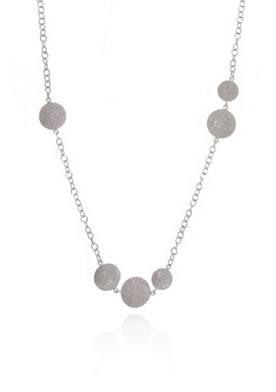 Belk co sterling silver sparkle necklace belk for Belk fine jewelry rings