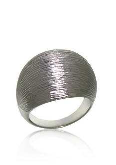 Belk & Co. Sterling Silver Ribbed Ring
