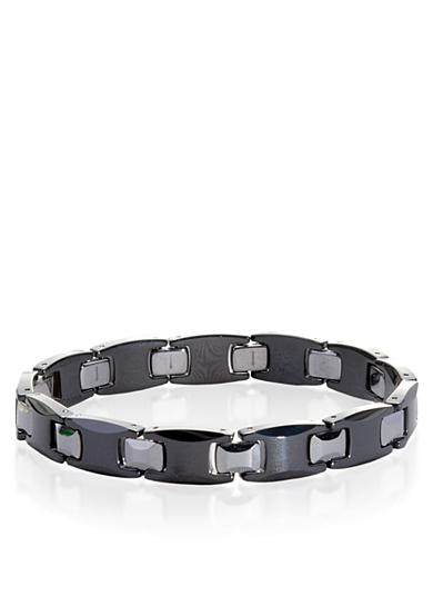 Belk & Co. Ceramic and Tungsten Bracelet