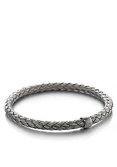 The Fifth Season by Roberto Coin Sterling Silver Thin Woven Bangle