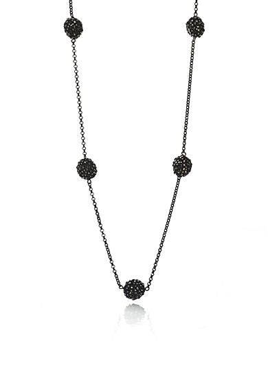The Fifth Season by Roberto Coin Oxidized Sterling Silver Station Chain Necklace<br>