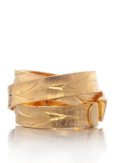 The Fifth Season by Roberto Coin 18k Yellow Gold Plated Sterling Silver Ring
