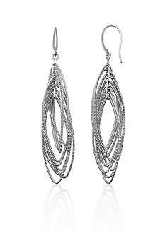 Charles Garnier Sterling Silver Earrings