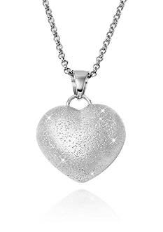 Charles Garnier Sterling Silver Heart Pendant
