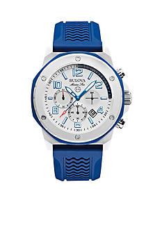 Bulova Men's Blue Strap Watch