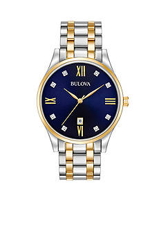Bulova Men's Classic Two-Tone Watch