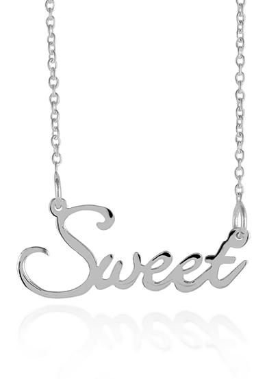 Belk & Co. Sterling Silver Sweet Necklace