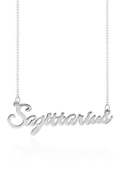 Belk & Co. Sterling Silver Sagittarius Necklace