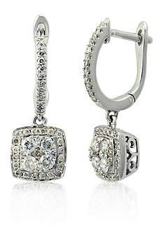 Belk & Co. Diamond Earrings in 14k White Gold