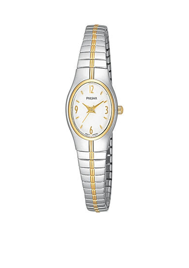 Pulsar Women's Two-Tone Stainless Steel Expansion Band Watch