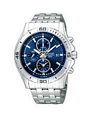 Pulsar Men's Blue Dial Chronograph Watch