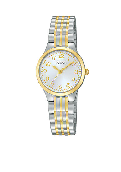 Pulsar Women's Two-Tone Expansion Watch