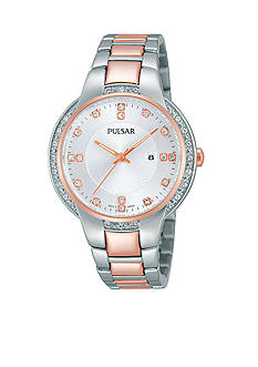 Pulsar Women's Two-Tone Night Out Watch