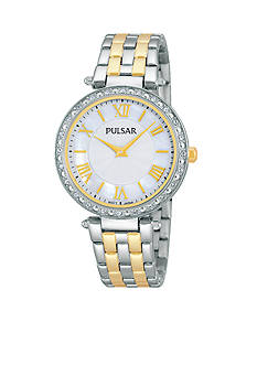 Pulsar Women's Two-Tone Mother of Pearl Watch