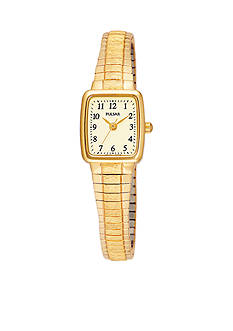 Pulsar Women's Gold-Tone Expansion Band Watch