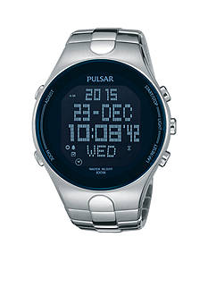 Pulsar Men's Digital World Time Watch