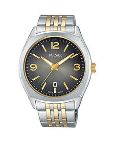Pulsar Men's Two-Tone Stainless Steel Watch