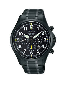 Pulsar Men's Solar Chronograph Watch