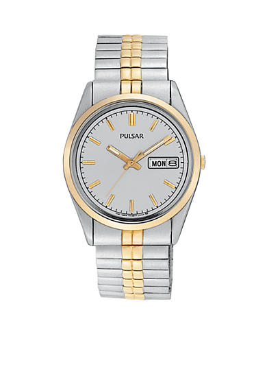 Pulsar Men's Two-Tone Expansion Watch