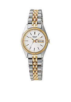 Pulsar Women's Two-Tone Calendar Watch