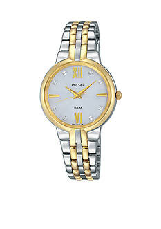 Pulsar Women's Solar Two-Tone Watch