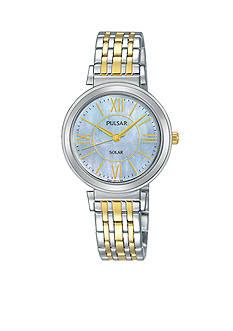 Pulsar Women's Two-Tone Solar Watch